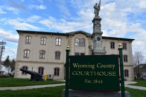 Wyoming County Courthouse Est. 1843